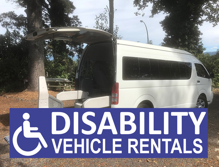 Disability Vehicle Rentals – Bay of Plenty